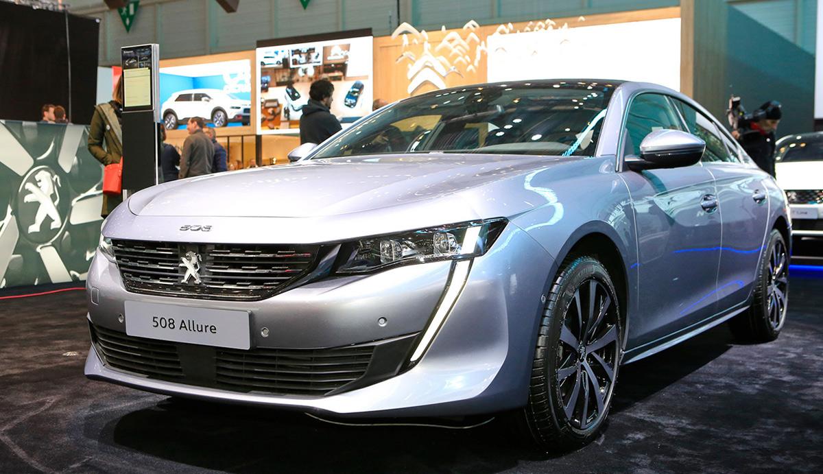 В Женеве в марте 2018 представлен новый Peugeot 508