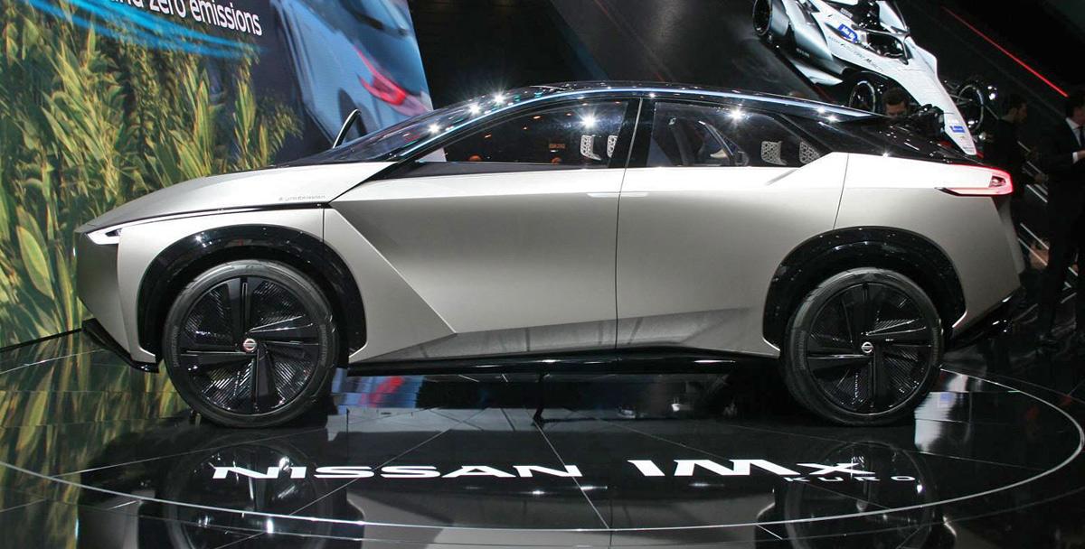 Nissan показал электрический концепт-кар IMx KURO